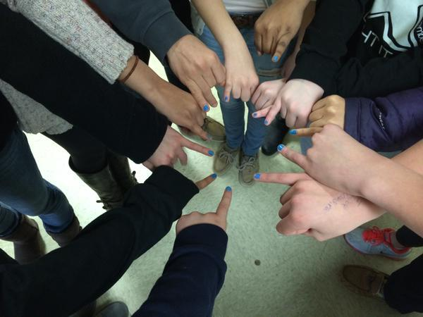 BFF Club raises awareness with a 'blue' pinky promise not to bully